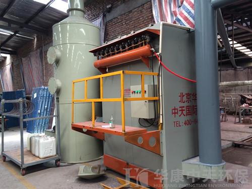 华康环保为天津炒货厂生产的炒货锅炉lovebet代理安装现场